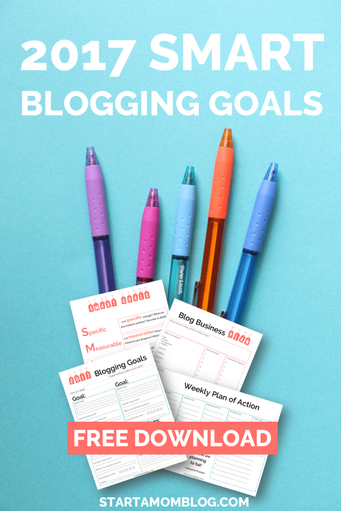 2017 SMART BLOGGING GOALS