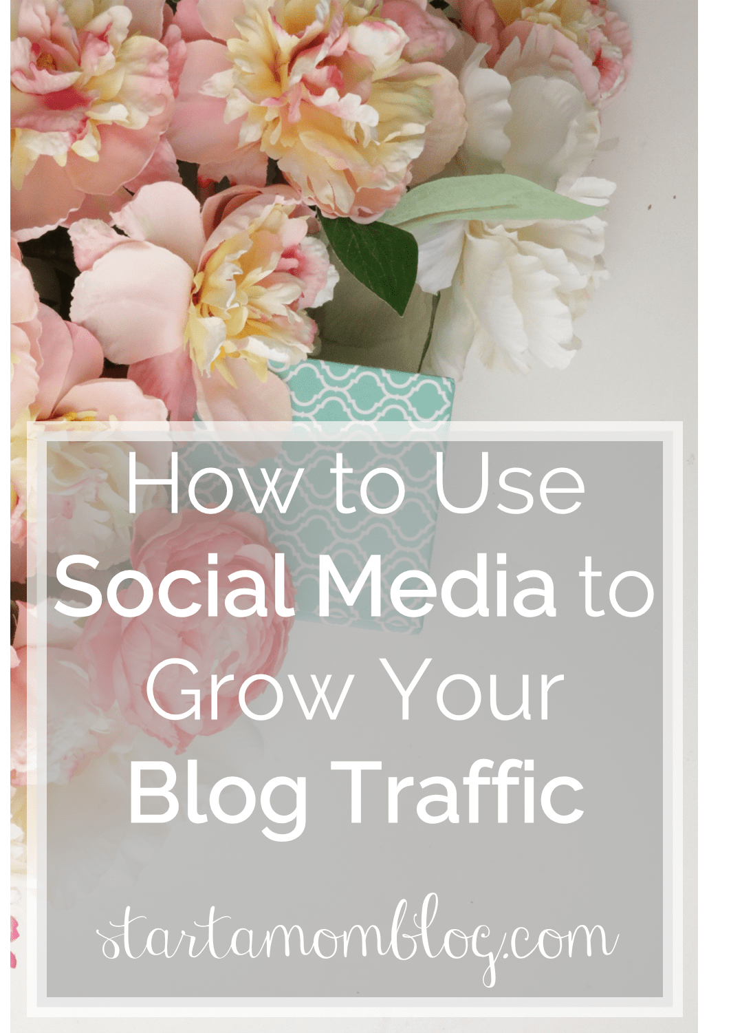 How to use Social Media to grow your Blog Traffic www.startamomblog.com