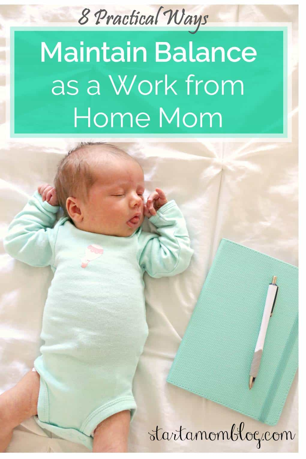 8 Practical Ways to Maintain Balance as a Work From Home Mom