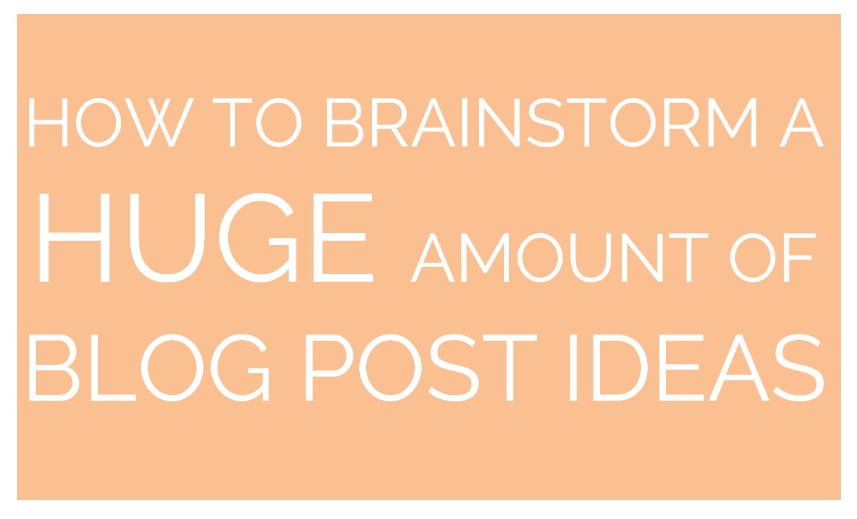The Best Fortune 500 Tool to Help You Generate Blog Post Ideas