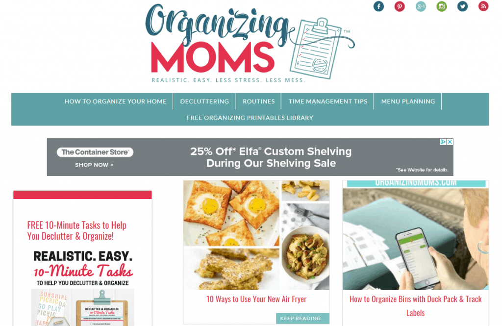 blogging for moms
