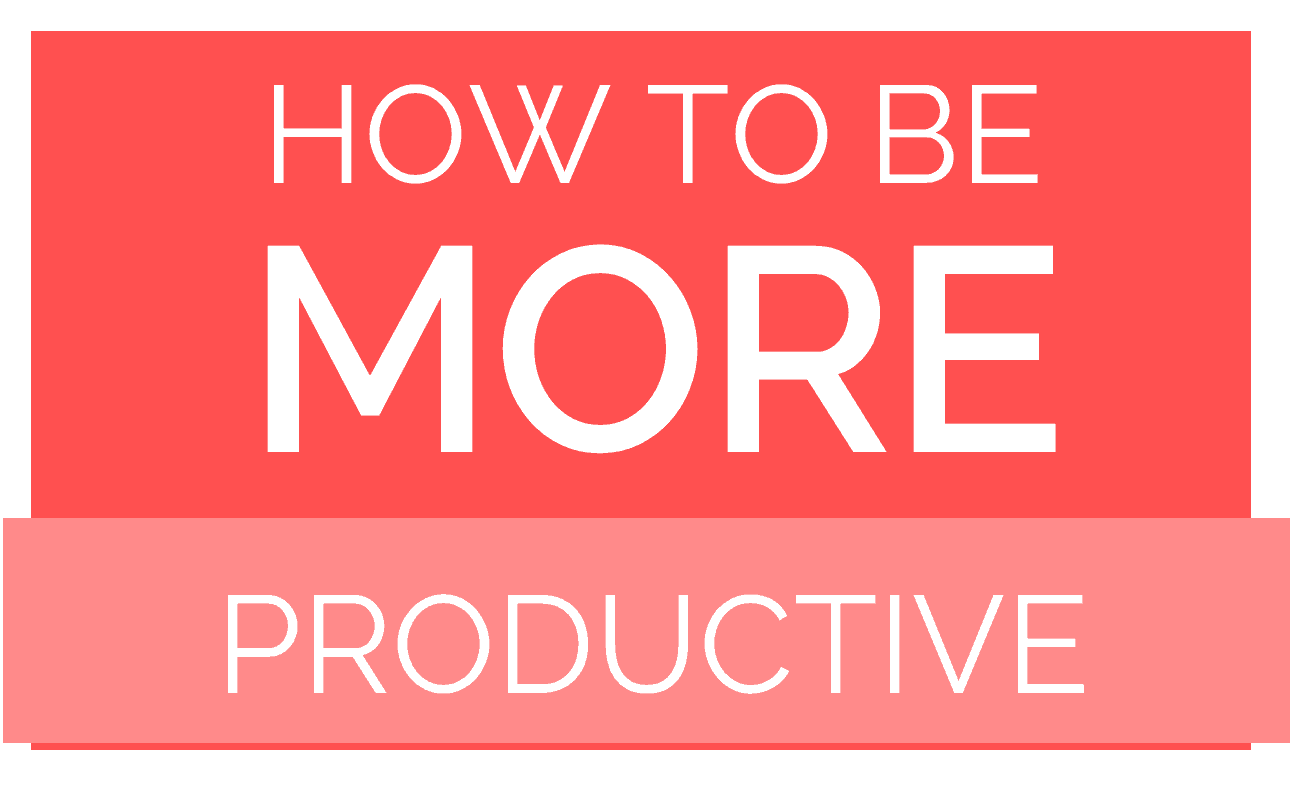How to be More Productive at Home with this Ridiculously Simple Method
