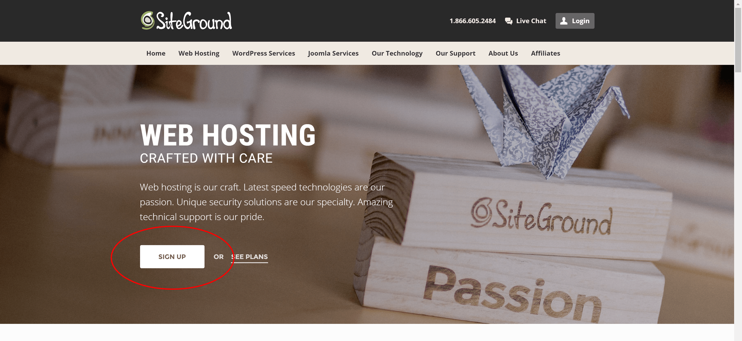 Start a Blog with SiteGround