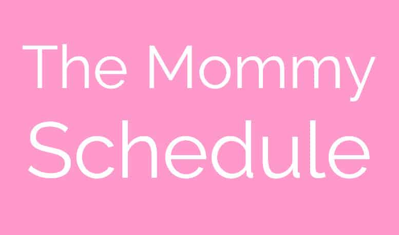 the mommy schedule small image