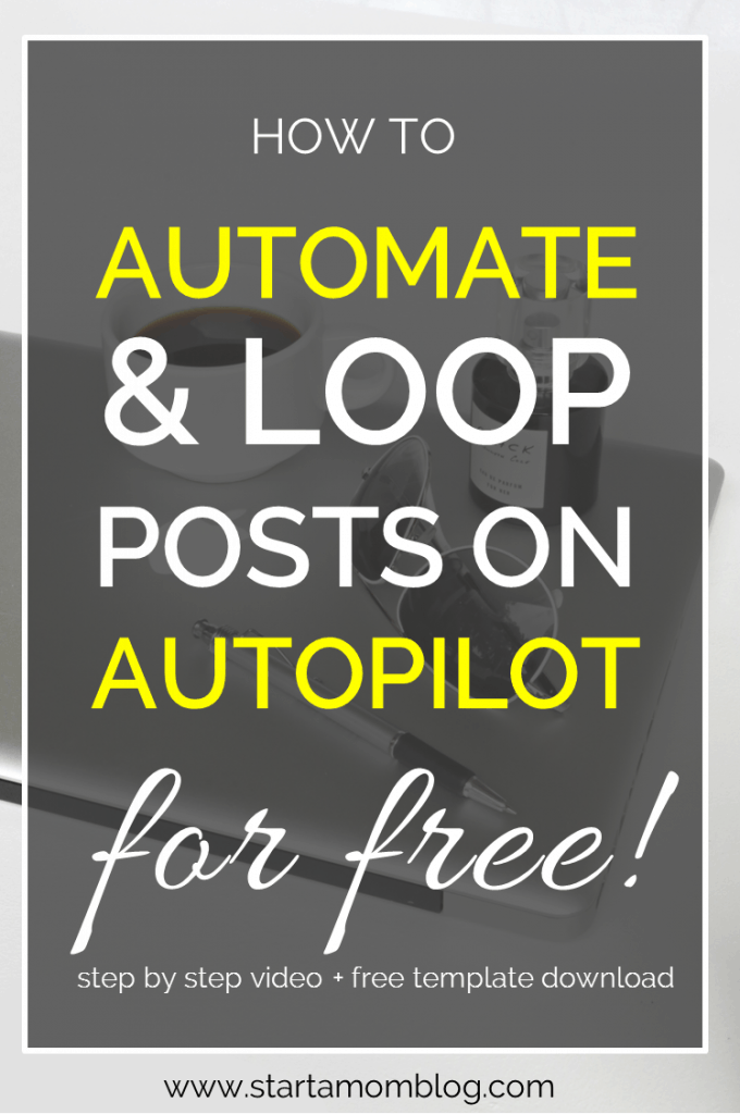Automate and Loop social media posting on autopilot