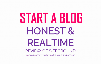 Realtime Honest and Raw Review of SiteGround Hosting – Start a Blog