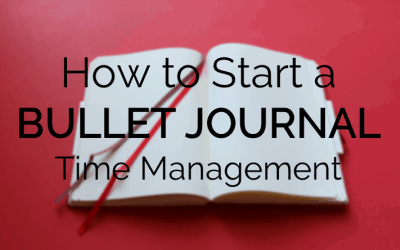 How to Use a Bullet Journal for Time Management