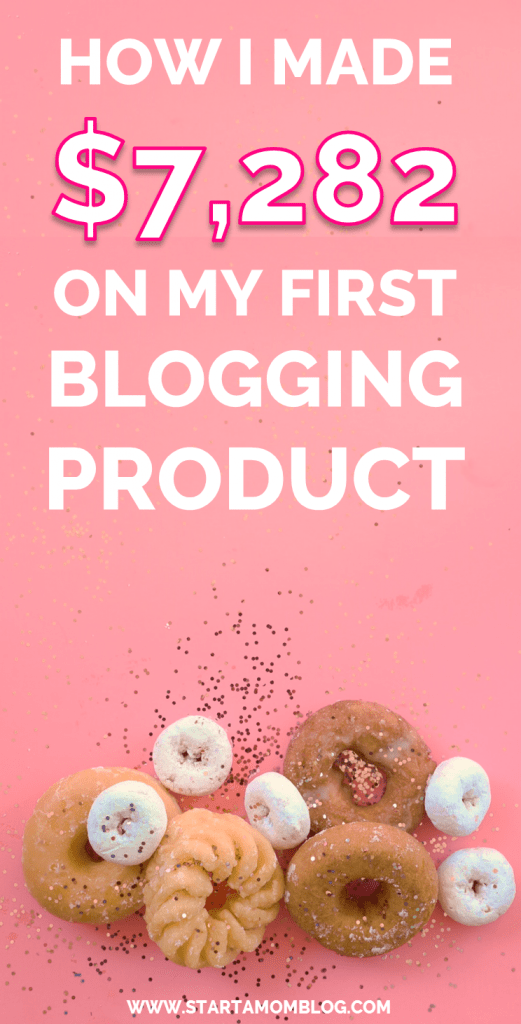 How I made money with my first blogging product