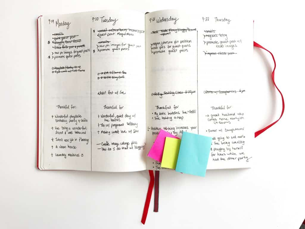 How to Use a Bullet Journal for Time Management - Start a Mom Blog