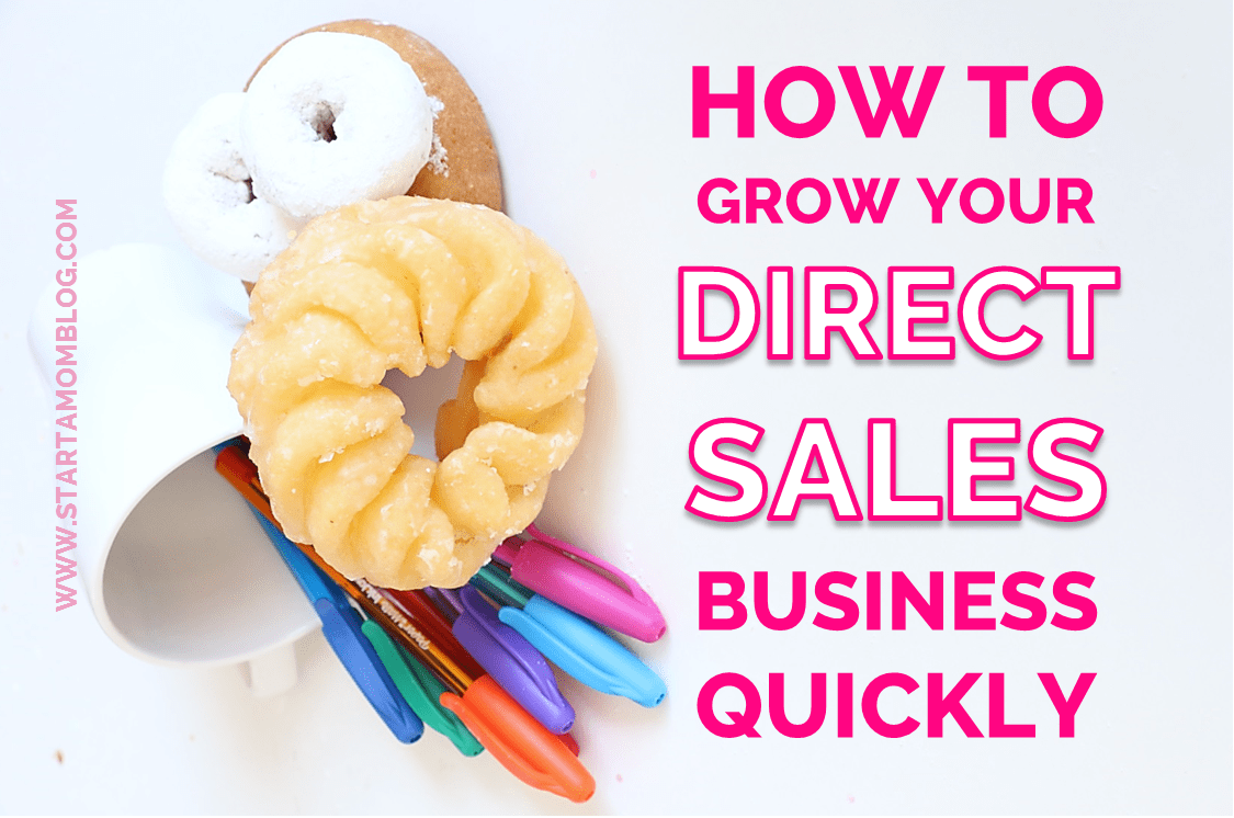 How to Grow Your Direct Sales Business Quickly