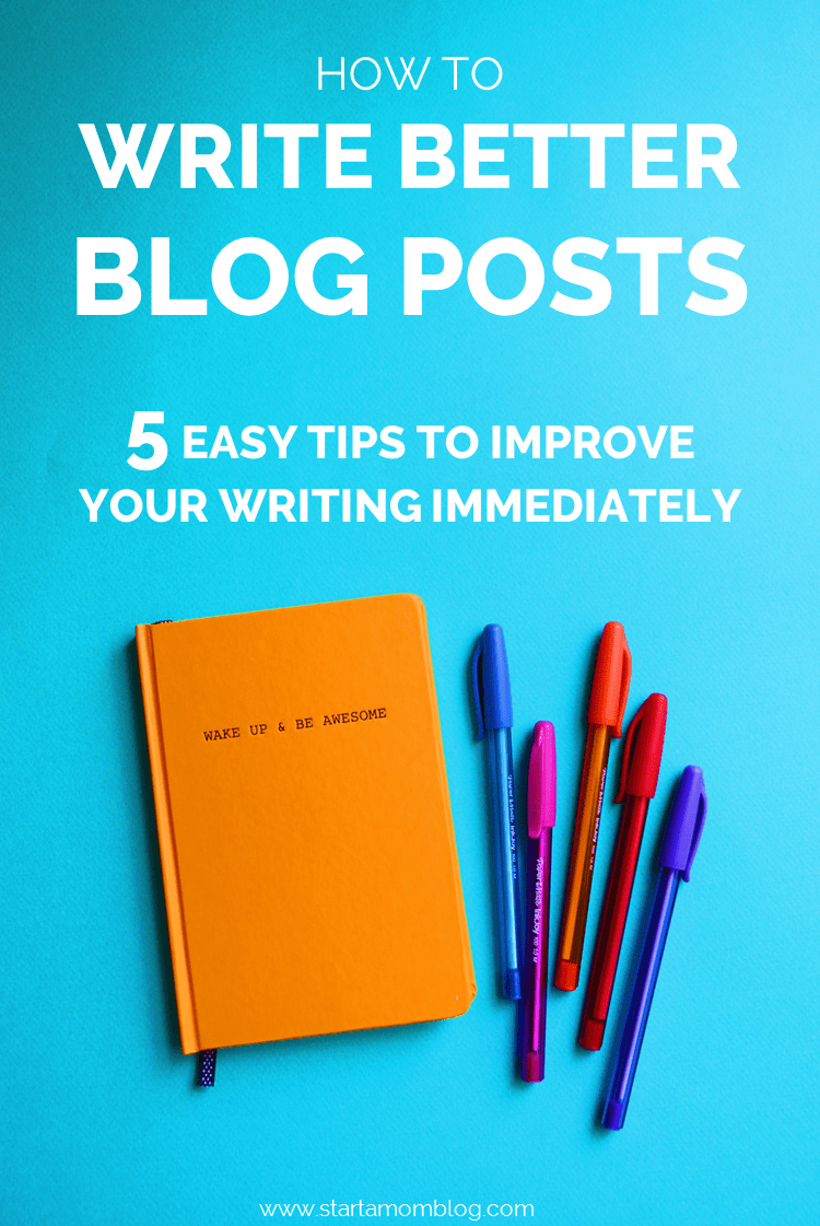 5 Tips to Write Better Blog Posts Using Great Sentences