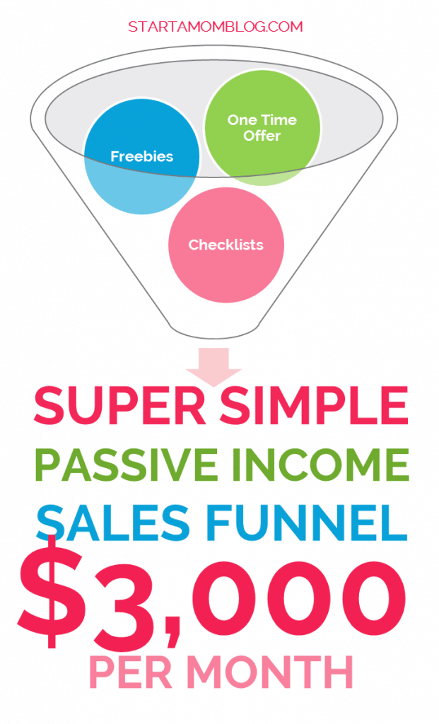 Super Simple Passive Income Sales Funnel for almost $3,000 per month!
