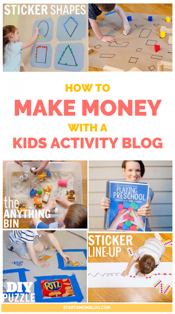 How to Make Money with a Kids Activity Blog