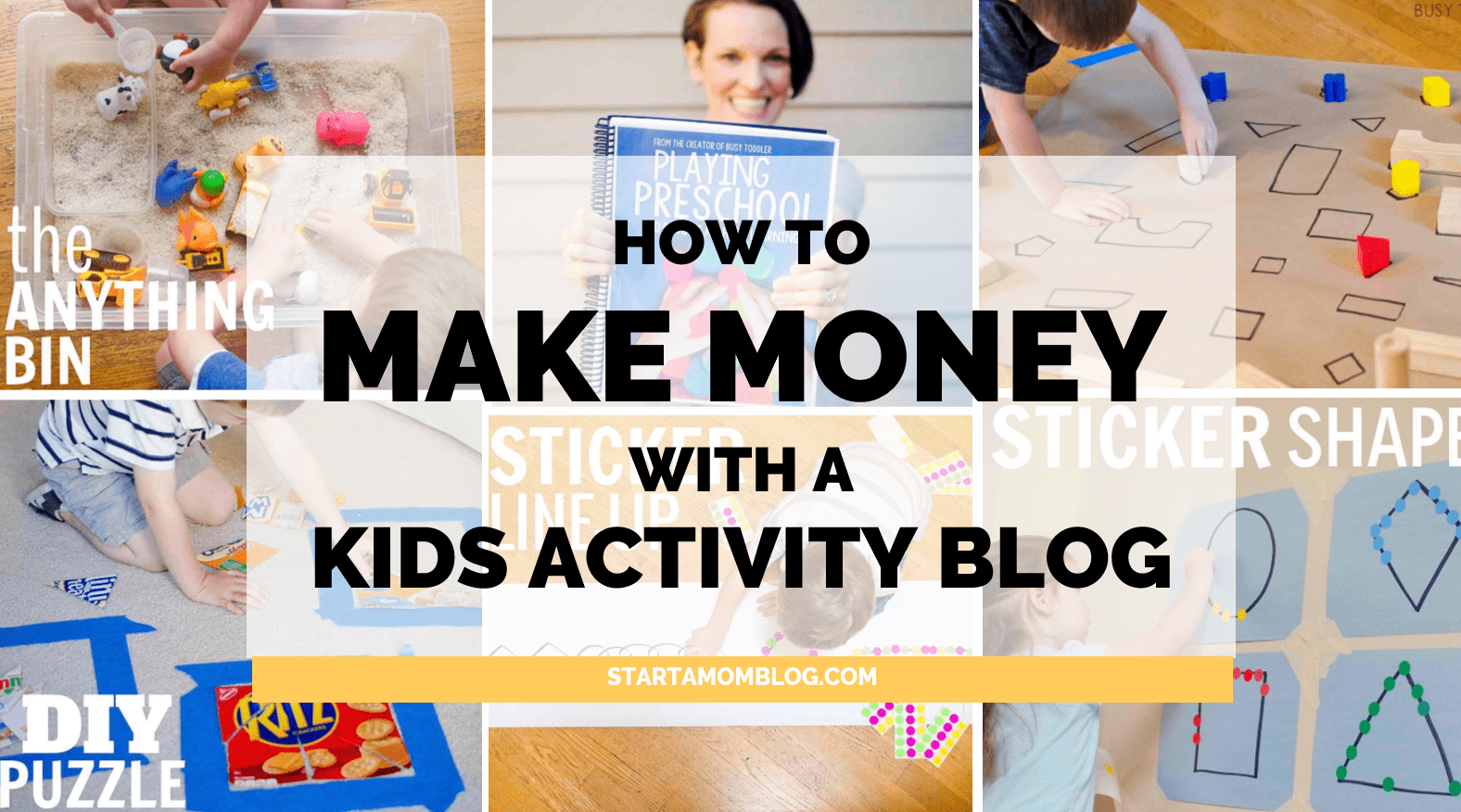 How to start and make money with a kids activity blog for How to build a blog