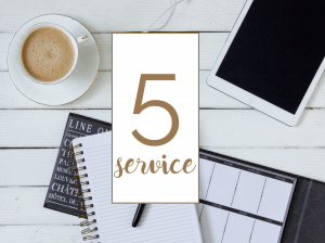 Make Your First 100 Blogging service