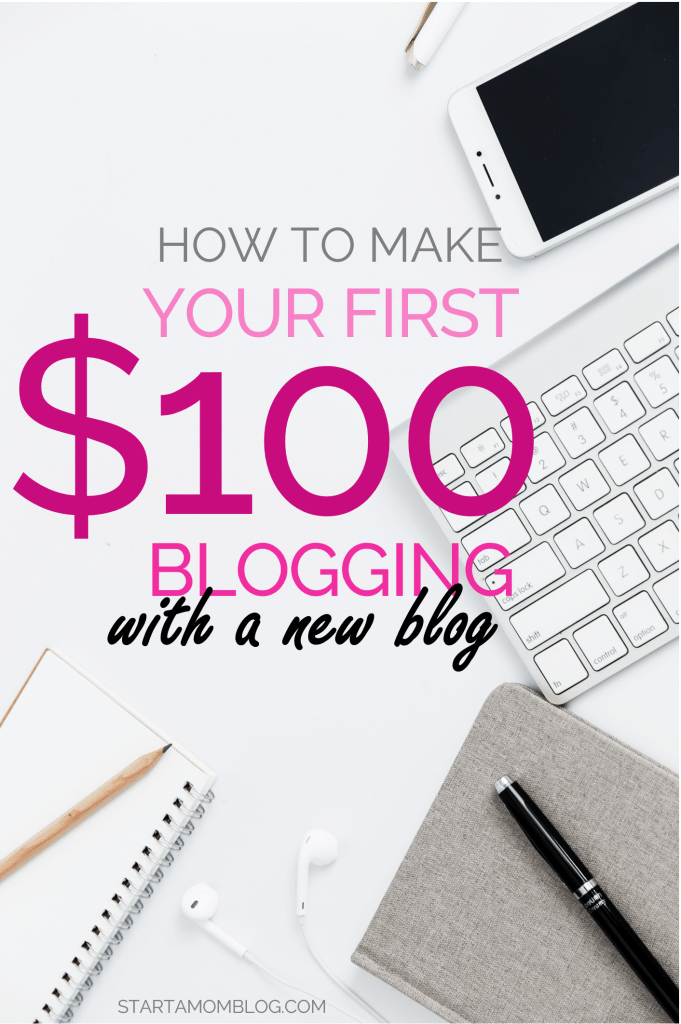 Make Your First 100 Blogging with a new blog