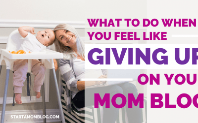 5 Tips: How to Not Feel Overwhelmed When You're Starting a Mom Blog