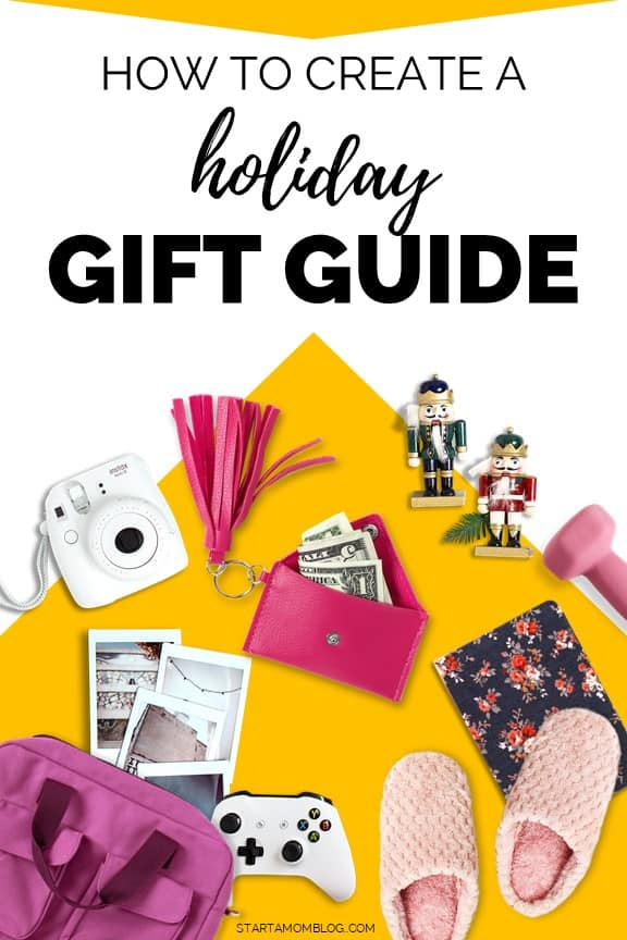 How to create a gift guide on your blog