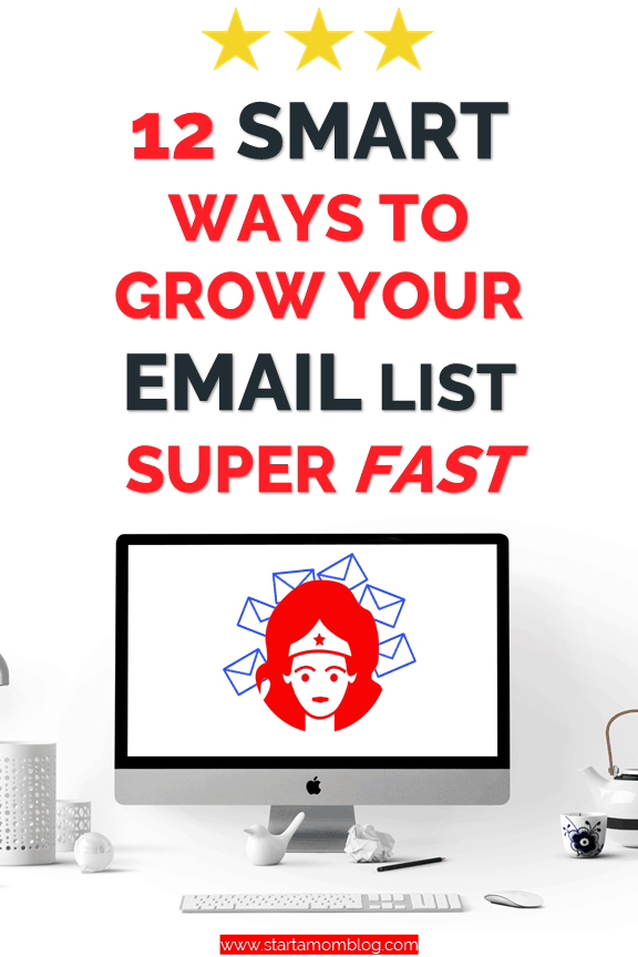 Start an Email List Quickly #emaillist #listbuilding