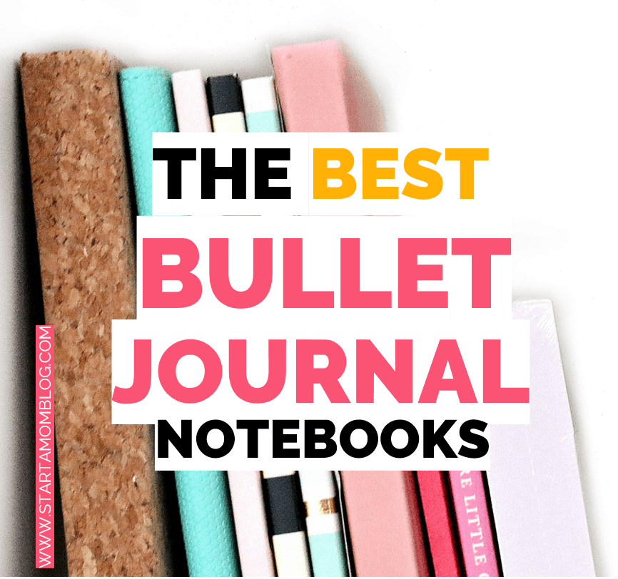 Best bullet journal notebooks cheap affordable pretty