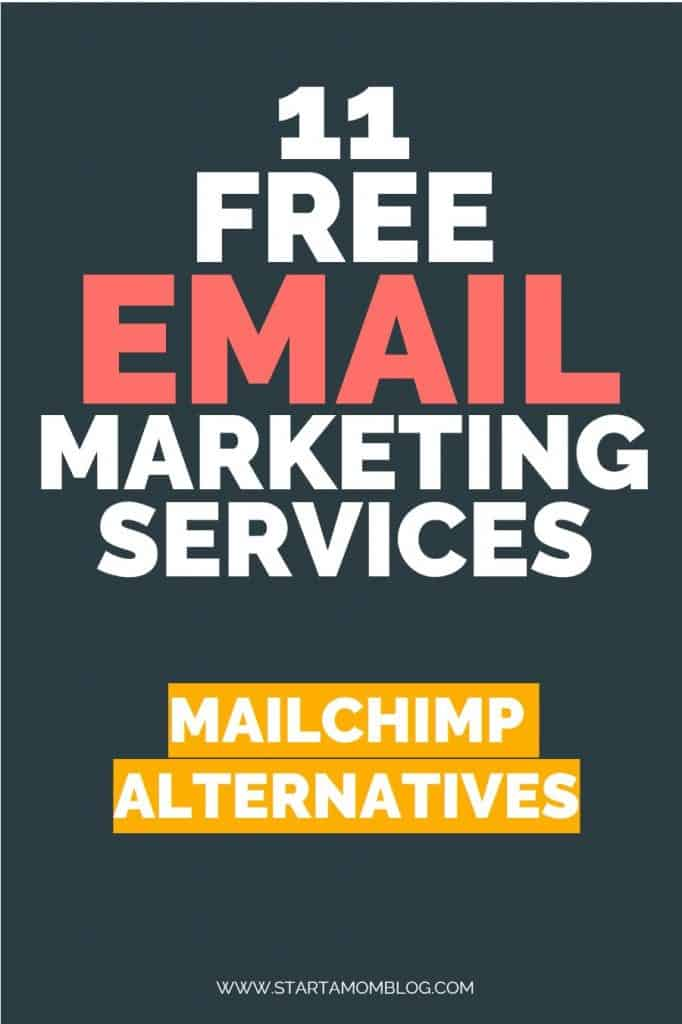 Mailchimp alternatives - free email marketing software startamomblog
