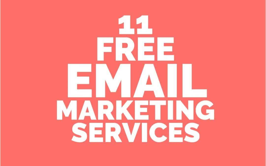 Mailchimp Alternatives – 11 Popular and Free Email Marketing Services