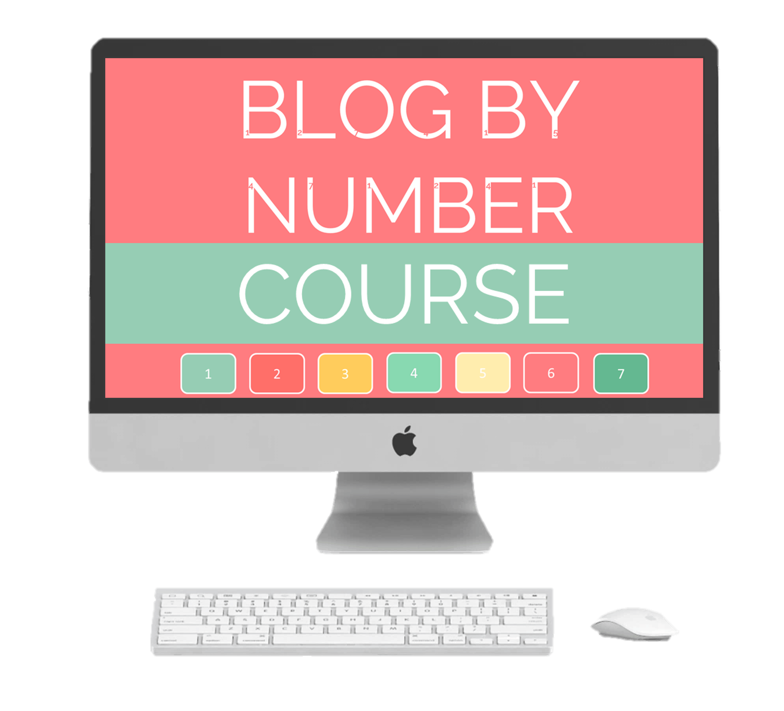 The signature blog by number course image- By Suzi whitford of startamomblog it is the best blogging course for new bloggers
