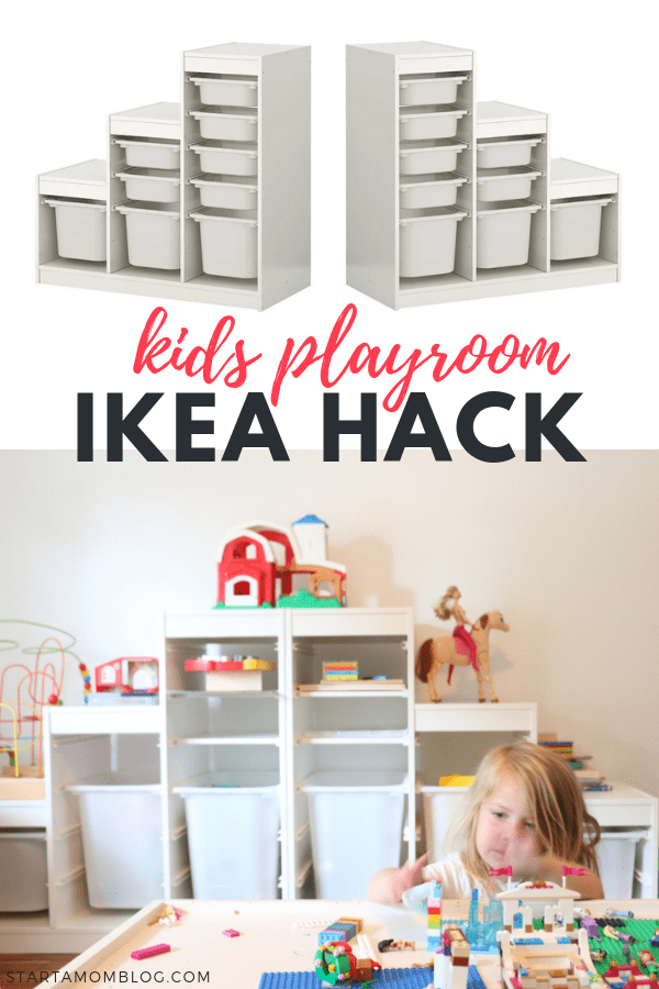 Ikea Hack Kids Playroom Trofast