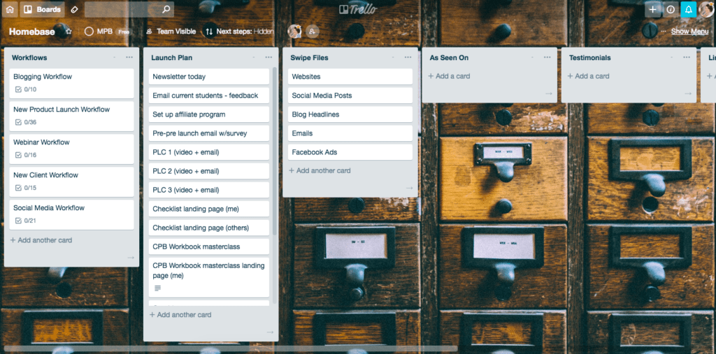 Trello-Board-Bloggers-Homebase