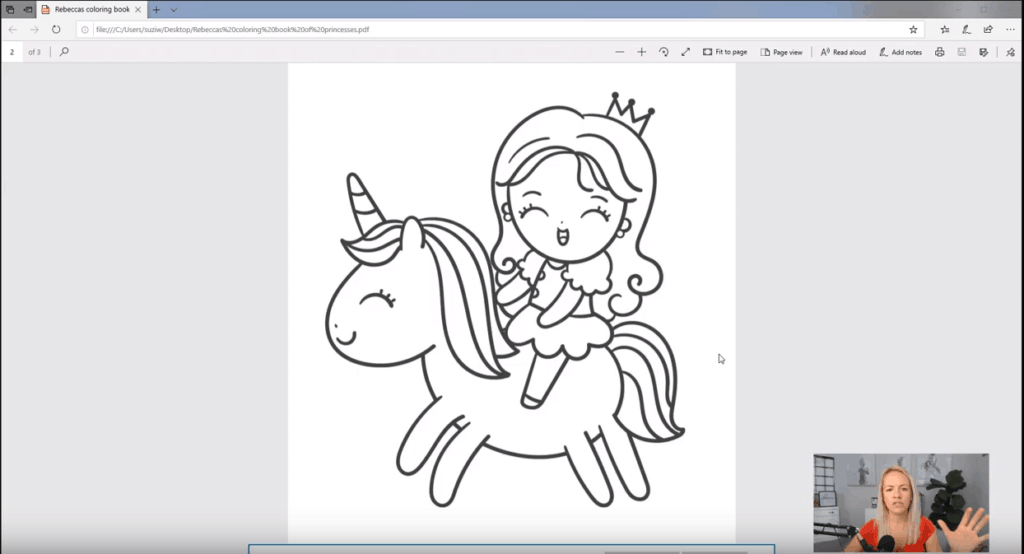 - How To Make A Coloring Book - Start A Mom Blog