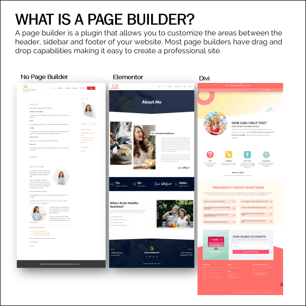 what is a page builder