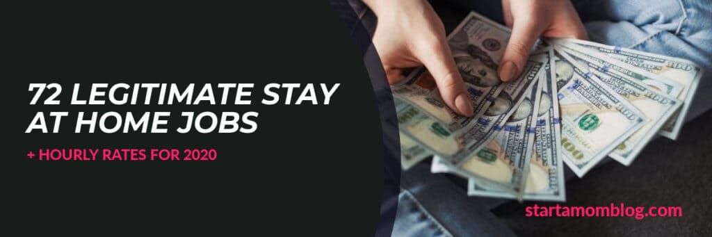 75 Real Ways to Make Money as a Stay at Home Mom + Hourly Rates ...