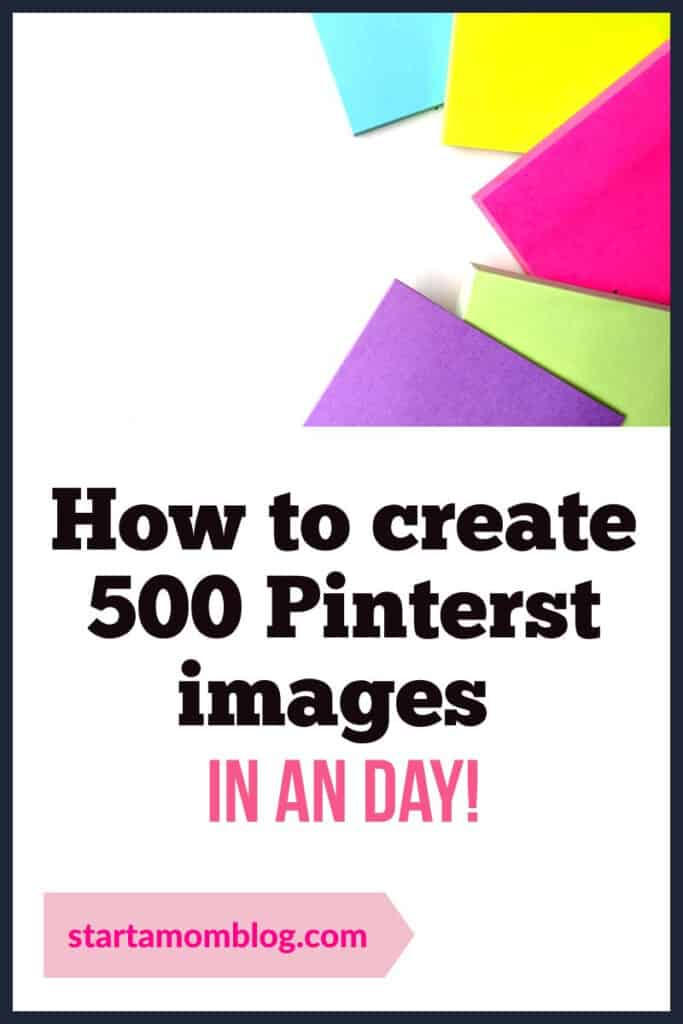 how to create pin images fast
