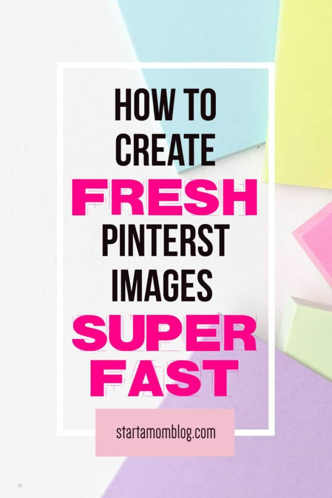 How to create pin images super fast