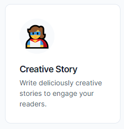 How to write a creative story with Jarvis