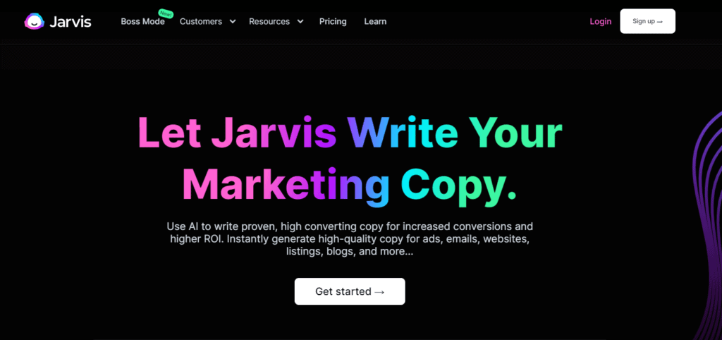 What is Jarvis for blogging and content creation