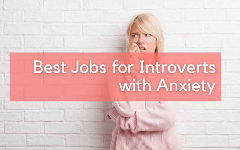 best jobs for introverts with anxiety