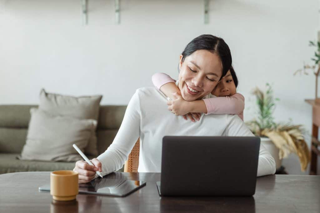 online jobs for moms no degree section marker